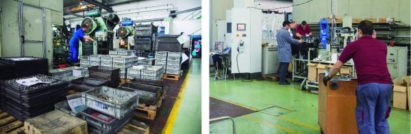 AMES CMA desenvolupa i produeix utillatges aprofitant l'experiència de la sinterització i la fabricació de maquinària